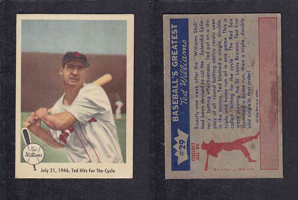 Cs96594171 1959 Fleer Ted Williams Baseball Card 29