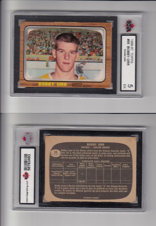 Cs79705861 1966 67 Topps Bobby Orr 35 Rookie Card